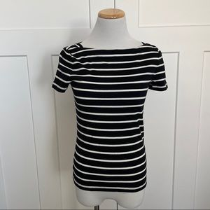 NEW Kate Spade Broom Street Striped Shirt Top